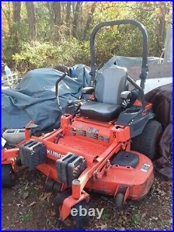 Kubota Z725KH Zero Turn Lawn Mower with 60 Deck, 25HP Kohler Lawnmower