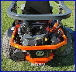 Kubota Z726k 60in Zero Turn Mower Kawasaki Engine Fill Suspension Seating