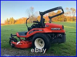 Kubota ZD25 Zero Turn Mower Diesel 60 inch cut very clean one owner