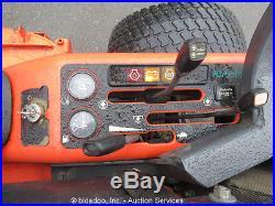 Kubota ZD28 Zero Turn 60 Deck Riding Lawn Mower Diesel Engine Low Hours bidadoo