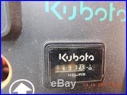Kubota ZD28 Zero Turn Diesel Mower with72