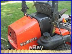 Kubota ZD326 Diesel zero turn mower ONLY 465 hours