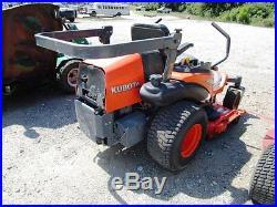 Kubota ZD331 ZERO TURN LAWN Mower 60 INCH PRO DECK DIESEL 31 HP WAM ROLL BAR