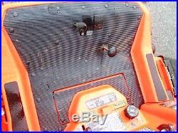 Kubota ZG227 Zero Turn Lawn Mower 54in hyd lift fab deck 27 hp gas used 344 Hrs