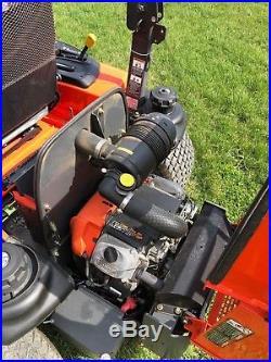 Kubota ZG327 Zero Turn Commercial Mower with 60 Pro Deck