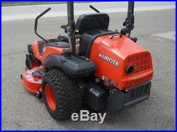 Kubota ZG332 Pro Zero Turn Mower, 32 HP Gas, 60 Fab Deck, Only 286 Hrs