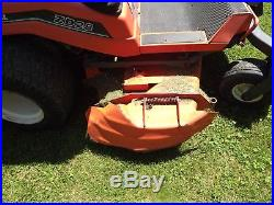 Kubota Zd28 Zero Turn Commercial Diesel Tractor Mower