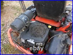 Kubota Zero Turn Mower 25HP Kohler Engine 60 Inch Deck 1840 Hours needs repair