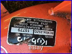 Kubota Zg23ZERO TURN LAWN Mower 54 INCH PRO DECK 23 horse power HP low hours