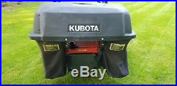 Kubota zero turn mower ZD221 / 54 DIESEL with bagging system / only 159 hours