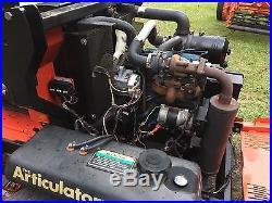 Lastec Articulator 3300 Zero Turn Mower 100 Cut Kubota Diesel Engine