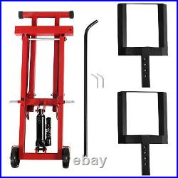 Lawn Mower Lift Jack for Tractors & Zero Turn Riding Lawn Mowers 500lb Capacity