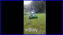 Mean green zero turn mower
