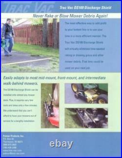 Most Mowers Zero Turn Mower Discharge Cover Best Quality DS101 Toro Great Dane