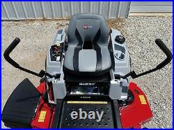 New Exmark Quest E Series Zero Turn Mower, 50 Deck, 22hp Kohler Engine, Hydro