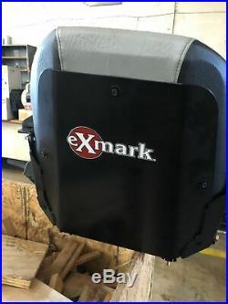 New Exmark seat taken off Exmark model Radius E Zero Turn Mower #EXMARK