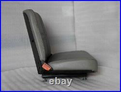 New Gray Seat, Bunton, Bobcat, Dixie, Snapper, Toro, Exmark Zero Turn Mower #xf