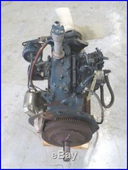 OEM Grasshopper KUBOTA DIESEL D722 21HP Liquid Cooled Engine / Motor off of 721D