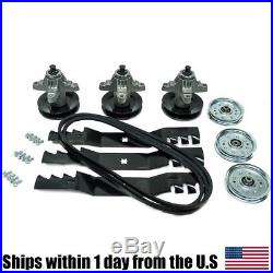 RZT 50 Zero Turn Cub Cadet Troy Bilt Blade Spindle Belt Mulching Blades RZT50