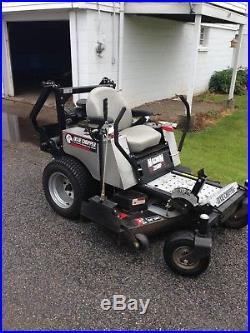 Riding mower lawnmower zero turn Dixie Chopper used 50 inch deck