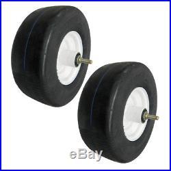 Run Flat Tire 13 x 6.50 Zero Turn Mower Set of 2
