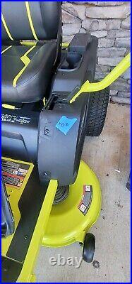 Ryobi 42 in. 100Ah Electric Zero Turn Mower RY48ZTR100 ZT480EX Salesman samp #10