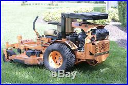 SCAG 61 Turf Tiger II Zero Turn Mower 231 hours