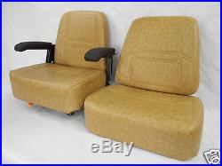 Scag Brown Replacement Seat Cushion Set Zero Turn Mowers, Extra Thick Bottom #za