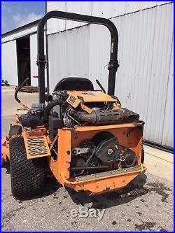 Scag Sabre Tooth Tiger Zero Turn 72 Deck 31 HP Diesel Engine #136858