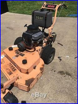 Scag SW36A-13KA commercial walk-behind mower Texas Edition