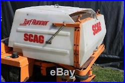 Scag Turf Runner Str With Bagger Zero Turn 48 Cut 696 Hours