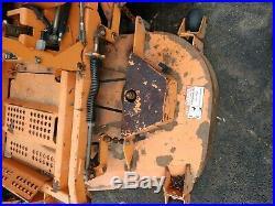 Scag Turf Tiger Zero Turn Mower 61 Inch Deck Kawasaki Engine runs well 2900hours