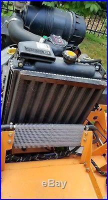 Scag turf tiger zero turn mower with EFI engine
