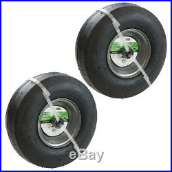 SureFit Pneumatic Wheel Tire Combo for Universal Zero-Turn Mower 13x5-6 2PK