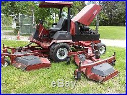 TORO 580D GROUNDSMASTER 16' golf course MOWER 80 HP DIESEL HYDRO 4000 HRS
