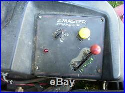 Toro Z Master Commercial Zero Turn Riding Mower 60 Cutting Deck 28hp Efi Eng