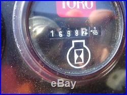 Toro Groundsmaster 328D 60 in Flail Mower and Blower Kubota Diesel