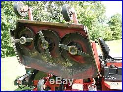 Toro Groundsmaster 580-D 4X4