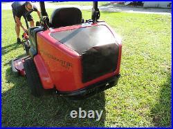 Toro Groundsmaster Zero Turn 7200 Kubota 25 hp. Diesel 62 Rotary Mower # 30362