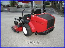 Toro Groundsmaster Zero Turn 7200 Kubota 25 hp. Diesel 72 Rotary Mower # 30360