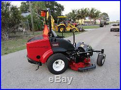 Toro Groundsmaster Zero Turn 7210 Kubota 36 hp. Turbo Diesel 72 Rotary Mower