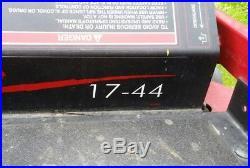 Toro Timecutter 17-44 Riding Zero Turn Mower with 44 Deck
