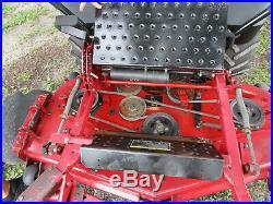 Toro Z-580D Zero Turn Comercial 60 Rotary Mower Diesel Engine Model # 74267