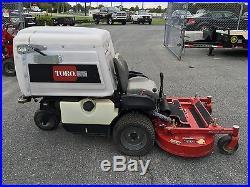 Toro zero turn 8000 Series with a bagger