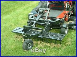 Trac Vac 335 Dethatcher 56 Tow Behind Zero Turn Mower Attachment