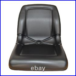 Two (2) Black High Back Seats for Pioneer Club Car 1200 1500 UTV Utility Vehicle
