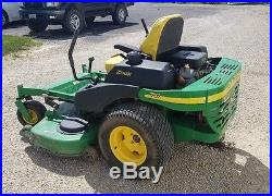 Used 2004 John Deere Z-Trak 757 Zero Turn Lawn Mower