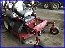 Used Exmark 60 zero turn riding mower