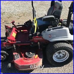 Used Exmark LZE740EKC60400 60 zero turn mower