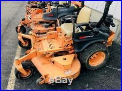 Used Scag Tiger Cat STC61V25CV 61 zero turn rider